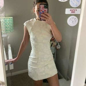 Adorable cream/white dress from Urban Outfitters